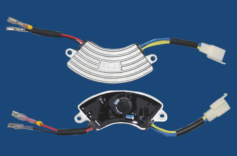1-3KW Gasoline Generator AVR Half Round Aluminum Can