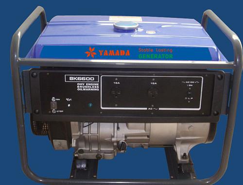 YAMAHA EF6600 Type Gasoline Generator