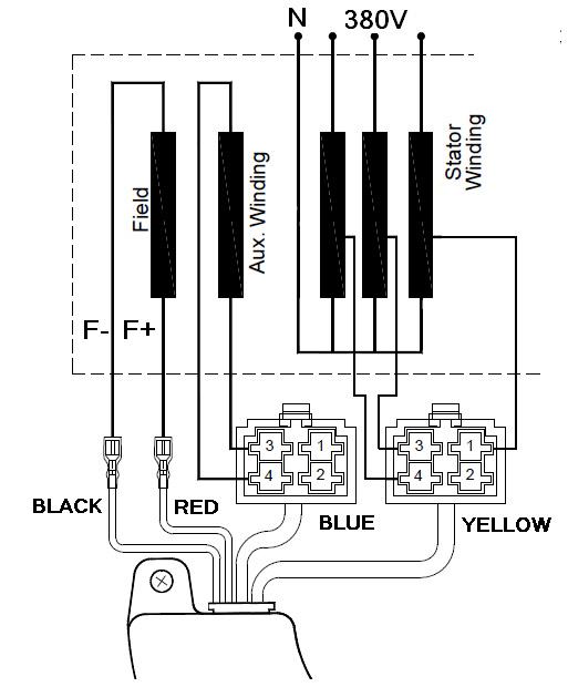7 Wires 3-5KW Three Phase Generator AVR - China Generator AVR Alternator  Voltage RegulatorChina Generator AVR Alternator Voltage Regulator