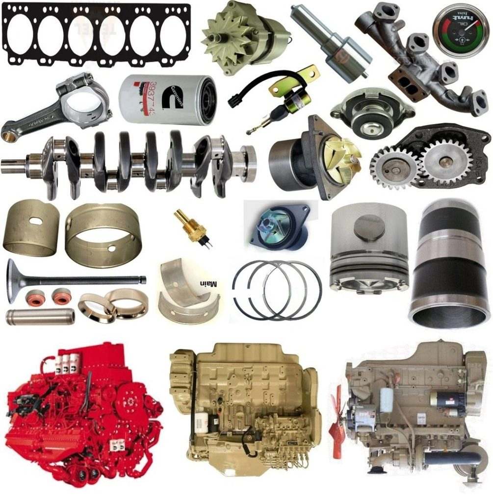 Cummins Power Engine Generator Spare Parts